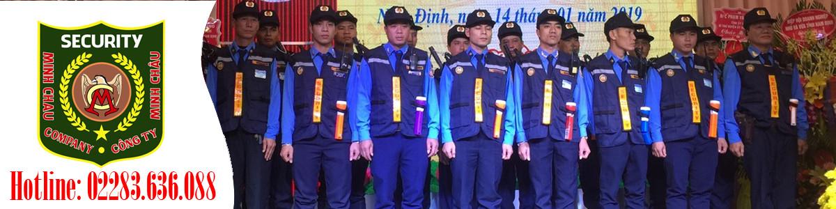 Công ty cổ phần dịch vụ bảo vệ Minh Châu
